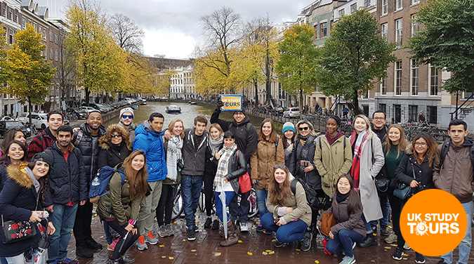 Student tour to Amsterdam & Bruges 2018