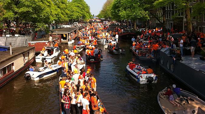 Amsterdam - King's Birthday & Bulbfields