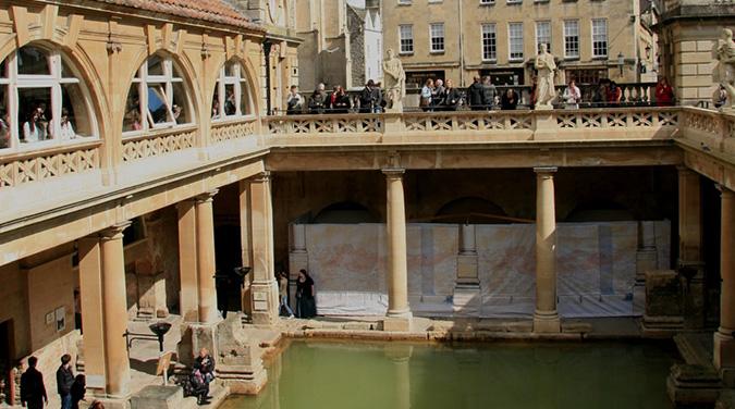 Bath Student Tours 2018 Roman Baths