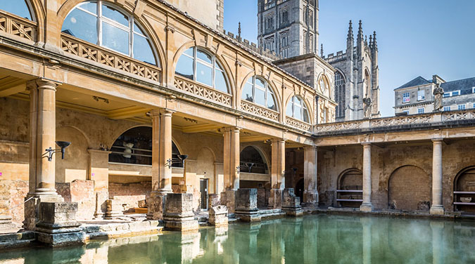 Student tours to Bath Christmas Markets 2017