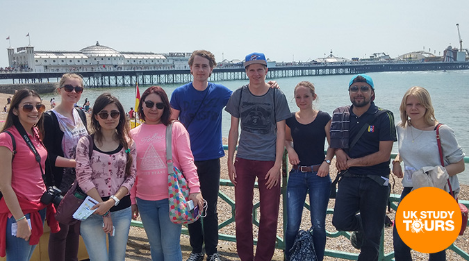 Student day tour to Brighton 2017