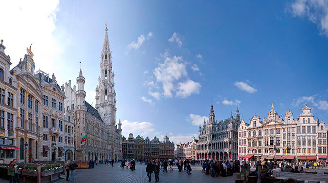 Student tour to Cologne & Brussels 2018