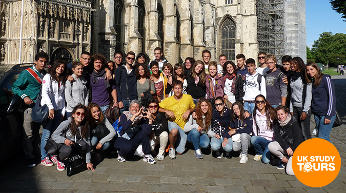 Student tour to Canterbury 2018