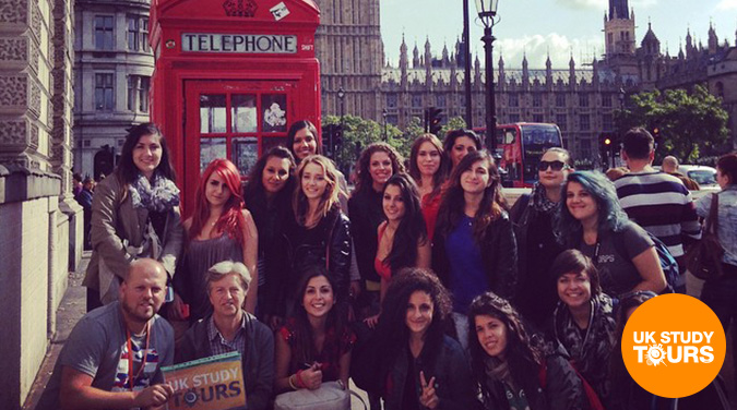 Student tour to London 2017