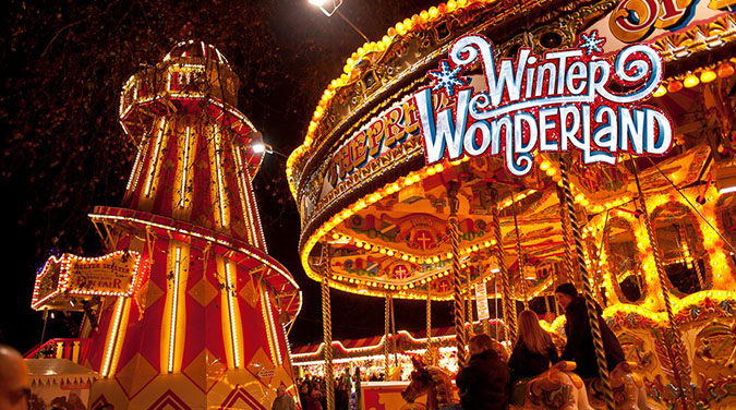 Student tour to London Winter Wonderland 2017