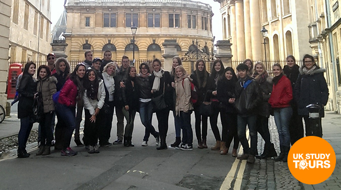 Student tour to Oxford, Windsor & Eton 2018