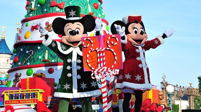 Student tour to Paris Disneyland Christmas 2017