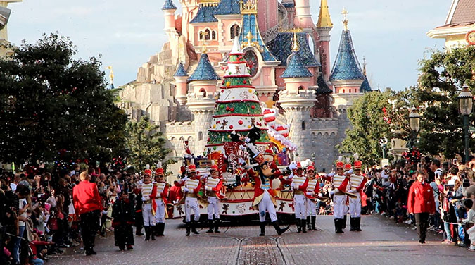 Paris & Disneyland Christmas Special