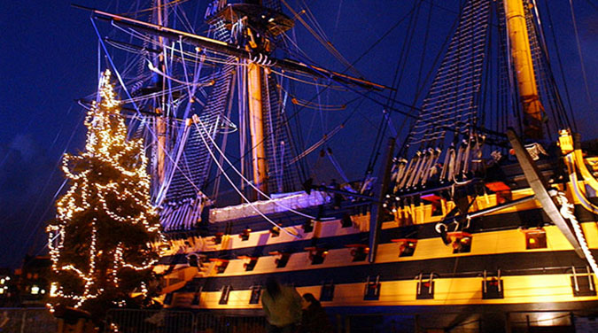 Student tour to Victorian Christmas Festival 2017 in Portsmouth