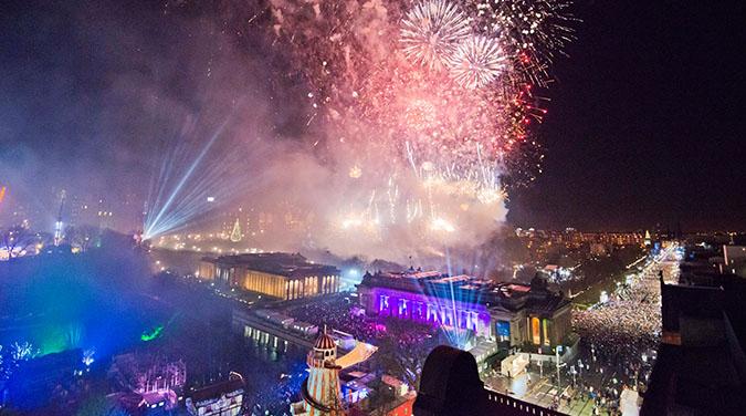 Student tour to Scotland New Year celebrations 2017