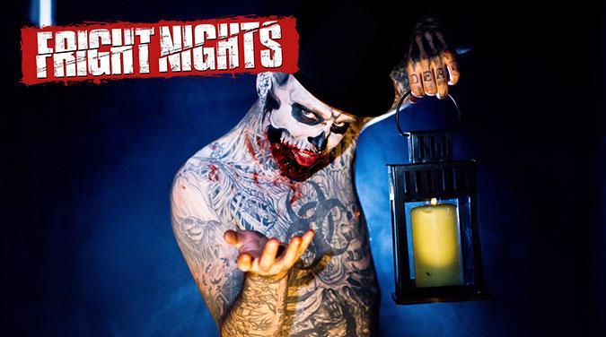 Student tour to Thorpe Park Fright Night 2017