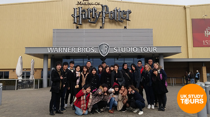 Student tour to WB Studio tour London, Making of Harry Potter 2017