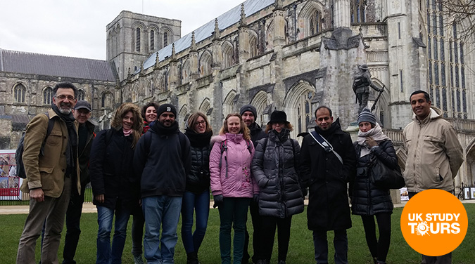 Student tour to Windsor, Eton & Winchester 2017