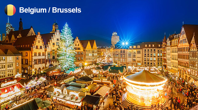 European 10 Day Christmas & New Year Tour