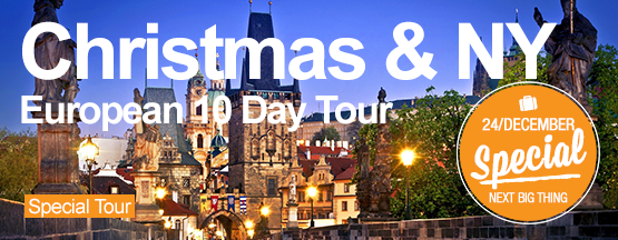 Christmas & New Year 10 Day European Tour