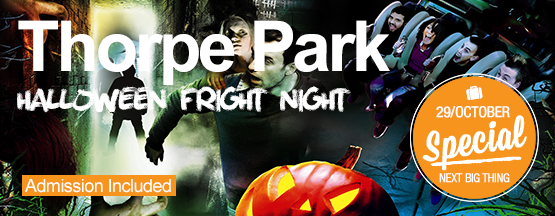 Student tour to Thorpe Park Fright Night Special 2017