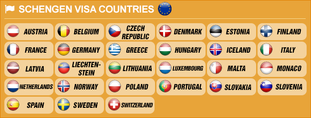 Schengen Area Countries