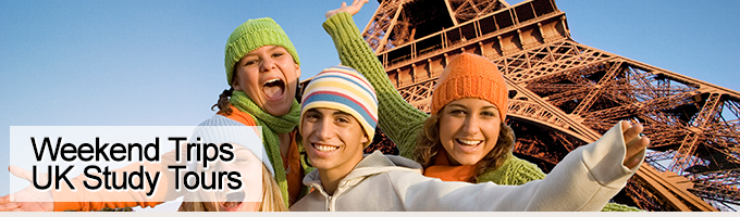 Weekend Student Tours - Day Trips - UK Study Tours